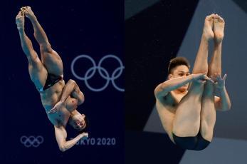 Rommel Pacheco y Osmar Olvera avanzan a la semifinal de clavados, en los Juegos Olímpicos