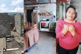 Vendedora ambulante de CDMX construyó su casa en plena pandemia y nos confiesa todo lo que costó