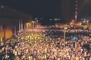 Universitarios hacen pachangón con 25 mil invitados en plena pandemia, en España