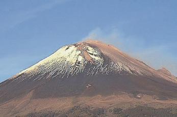Autoridades de Morelos aseguran que el volcán Popocatépetl no representa peligro