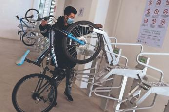 Autoridades de la CDMX buscan incentivar el uso de la bici con Biciestacionamiento Masivo