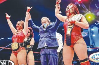 """""""Amazonas"""" tendrán su Grand Prix, en la Arena México"""