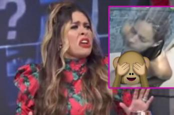 """Conductores de """"Hoy"""" filtran en vivo video de Galilea Montijo bañándose"""