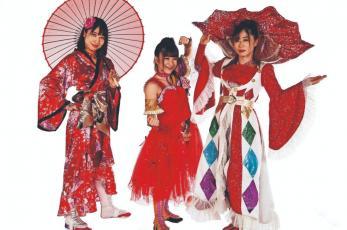 Tsukasa, Tsukushi y Momo Kohgo llegaron para imponer su estilo oriental en la Arena México