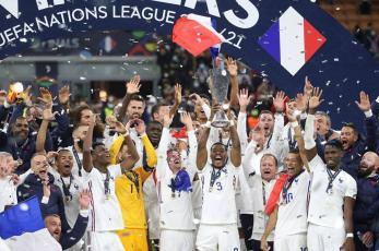 Francia vence a España en polémico encuentro y conquista la UEFA Nations League