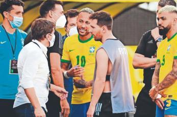 CONMEBOL pide que se realice partido de Brasil contra Argentina suspendido por la FIFA