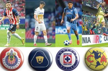 Chivas, América, Cruz Azul y Pumas se alistan para la final del Apertura 2021