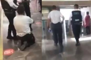 ¡Milagro en el Metro CDMX! Captan a ñor con supuesta discapacidad caminando normal