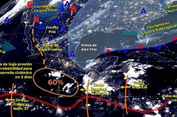 ¿Cómo va a estar el clima hoy martes 19 de octubre en CDMX, Edomex y resto del país?