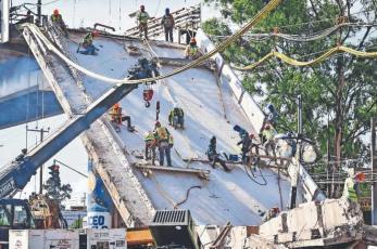 Fiscalía capitalina denuncia a 10 exfuncionarios por el colapso de la Línea 12 del Metro