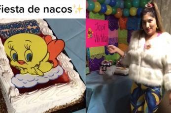 """Tiktoker indigna tras organizar fiesta de """"nacos"""", la tachan de clasista"""
