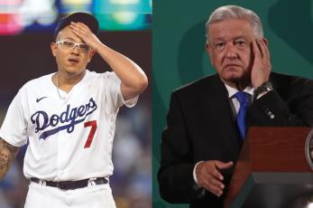 """AMLO asegura que """"maltrataron"""" a Julio Urías tras derrota de Dodgers, pero tiene esperanza"""