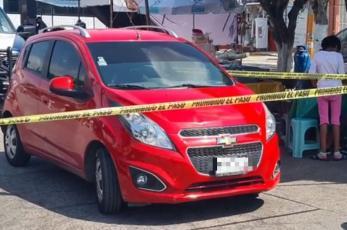 Era menor de edad la mujer asaltada y captada en video en Cuernavaca, hallan auto sospechoso