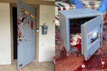 TikToker tiene aterrado a todo Estados Unidos por su sangrienta decoración de Halloween