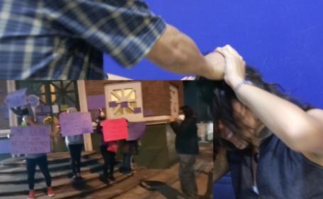 Golpean a maestra de la UAEdomex en clase virtual, alumnos viralizan video y cimbran calle
