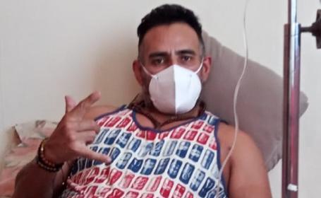 Dr Wagner Jr sufre secuela luego de aplicarse la vacuna contra Covid-19