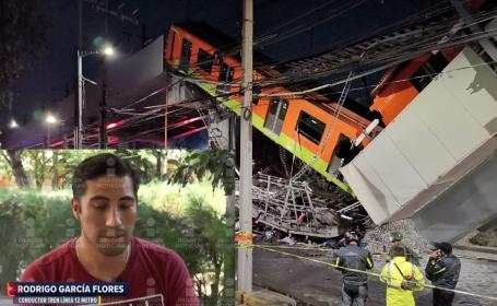 """""""En una parte había un brazo"""", conductor del Metro revela cómo vivió colapso mortal de L12"""