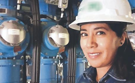 Madre de familia se la rifa para reparar desperfectos en las subestaciones eléctricas