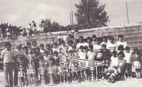 Con más 6 décadas de historia, el Deportivo Águila sigue vigente en el futbol morelense