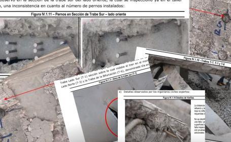 Estas son las 58 páginas del informe preliminar del colapso de la Línea 12 del Metro