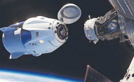 Comienza el turismo espacial, Space X lanza primer cohete con civiles a bordo