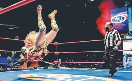 Amapola y su oportunidad para arrasar en el Grand Prix femenil del CMLL