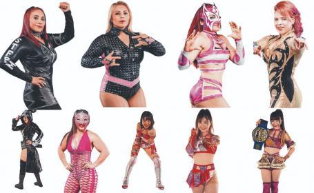 Son 14 guerreras las que arrasarán hoy el cuadrilátero del primer Grand Prix femenil