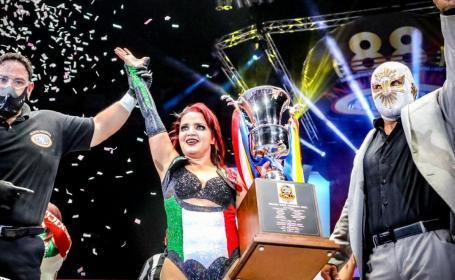 Dark Silueta impone su fuerza tapatía y se lleva el triunfo en el Grand Prix femenil