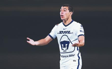 Pese a mala racha en Pumas, Erik Lira está listo para su primer partido con afición